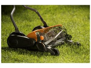 grasmaaier met mulchfunctie