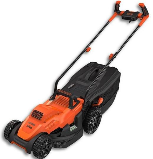 Kleine Elektrische grasmaaier Black-Decker-BEMW461BH