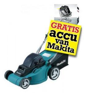 Aanbieding Accu grasmaaier Makita-DLM380Z