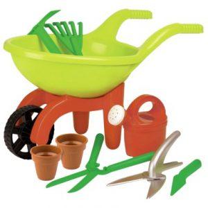 speelgoed tuin gereedschap kinder kruiwagen