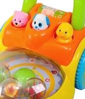 Playgo speelgoed grasmaaier-dieren-detail