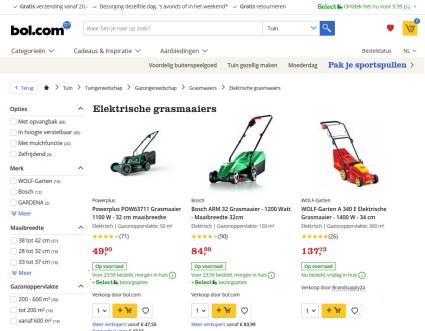 Grasmaaier kopen bij bol