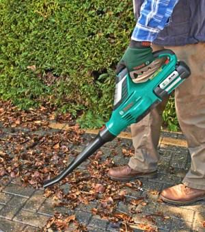 Bosch Alb 36 accu Bladblazer gebruik