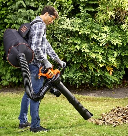 Black Decker bladblazer elektrisch-BEBLV300-gebruik