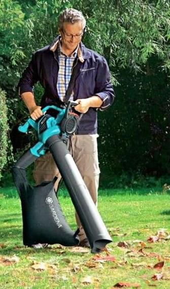 Elektrische bladblazer Gardena-ErgoJet3000 gebruik