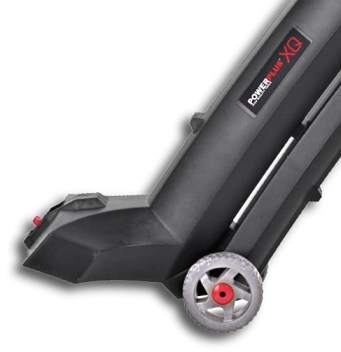 Beste bladzuiger Powerplus-POWXQG-5030-wielen