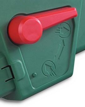 bladblazer Eurom 3000 detail