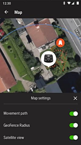 Robotmaaier Husqvarna Automower 305 app