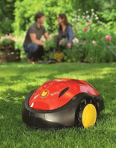 Robotmaaier voor kleine tuin
