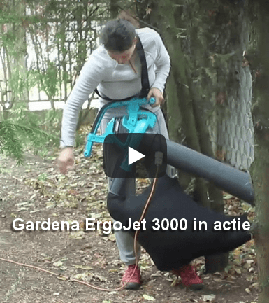 Gardena ErgoJet 3000 bladblazer test