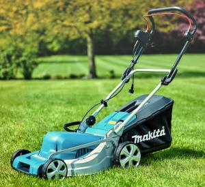 Elektrische grasmaaier Makita ELM4121 gebruik