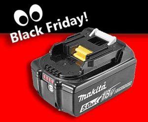 Makita Black Friday accu 18V