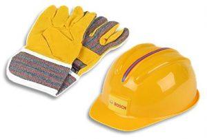 speelgoed helm werk handschoenen