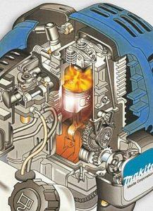Makita benzine motor