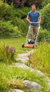 Grasmaaier Stihl gebruik