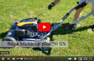 Stiga MULTICLIP 50 SX Benzinemaaier YouTube