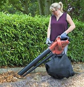 bladblazen op grind